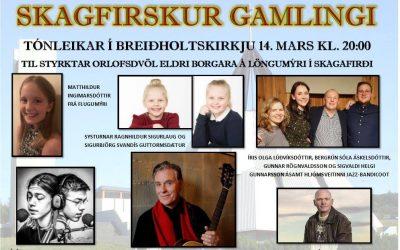 Skagfirskur gamlingi til stuðnings  orlofi eldri borgara á Löngumýri